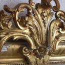 Marco dorado de espejo-Detalle Marco