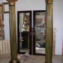 Columnas imitación madera policromada-final