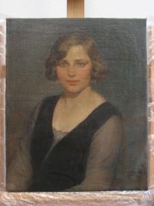 Retrato femenino.Óleo sobre lienzo-final